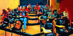 Final Exam (migueldeozarko) Tags: classroom exam students