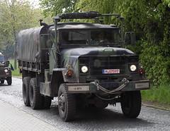 M923 (Schwanzus_Longus) Tags: sehnde wehmingen german germany us usa america american army military truck lorry lkw laster lastwagen camo camouflage flatbed am general m923