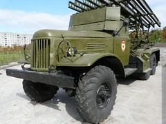 "BM-13 on ZiL-157 10 • <a style=""font-size:0.8em;"" href=""http://www.flickr.com/photos/81723459@N04/34794386273/"" target=""_blank"">View on Flickr</a>"