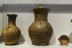 "Greek Archaic Pottery –  LG Attic Pots1784_MAN (egisto.sani) Tags: atene lgp museoarcheologiconazionale vasi skyphos pitcher brocca oinochoe ""gruppo del sonaglio"" dei cerchi concentrici"" ""concentric circles group"" ""the rattle ""attic pottery"" ""ceramica attica"" ""greek ""ceramica greca"" ""arte ""greek art"" ""late geometrical period"" ""periodo tardo geometrico"" ""lg athens ""national archaeological museum"" ""museo archeologico nazionale"" nm 343 17497"