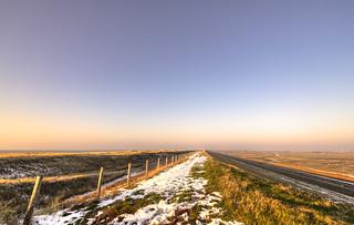 The long dune to Petten.