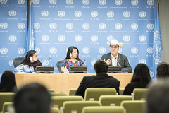 Press Conference (UNDESA-DSPD) Tags: unitednations newyork