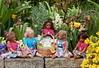 Die Minis ... (Kindergartenkinder) Tags: kindergartenkinder park annette himstedt dolls grugapark essen gruga frühling ostern blüte gruppenfoto personen reki lillemore doppelleleti puki leleti