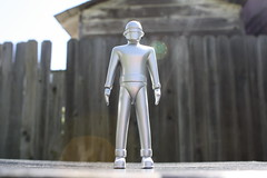 "5"" Metal Gort (Donald Deveau) Tags: gort thedaytheearthstoodstill sciencefiction robot toys toyphotography"