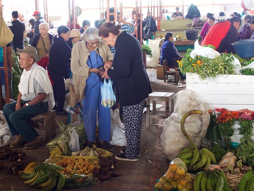 Market at San Jose de Isnos