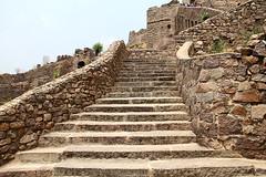 Golkonda Fort (dropshado) Tags: golconda golkonda hyderabad monuments fort ruins nizam rocks