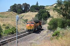 BNSF 115 (NikonRailfan24) Tags: bnsf gp60m stockton sub 011 franklin canyon collier rodeo