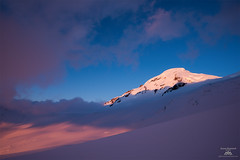 Mount Baker Alpenglow (Jason Hummel Photography) Tags: skiing skiers mountbaker wilderness mountbakerwilderness washingtonstate washington cascademountains northcascades volcano pacificnorthwest snow mountains mountain sunset alpenglow