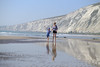 Family Beach Time - DSCF2653 (s0ulsurfing) Tags: s0ulsurfing 2017 april isle wight beach coast compton family