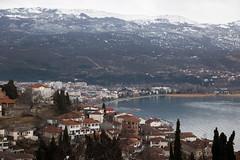Cidade e lago Ohrid (Mundo por Terra) Tags: copyright©2017bymundoporterraallrightsreserved latitude70º macedônia mundoporterra worldbyland expedicaomundoporterracombr wwwmundoporterracombr