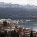 Cidade e lago Ohrid