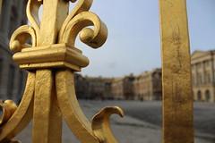 IMG_2791 (valentinperrier) Tags: chateaudeversailles versailles portail or fleurdelys chateau