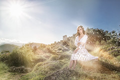 young spring girl (Eric Champs) Tags: beauty bilitis blonde cannes castle coiffure fashion girls hairstyle ilovepaca mode nature nice pacafocuson portrait printemps spring
