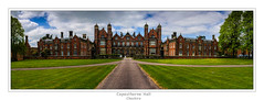 Capesthorne Hall (Kev Walker ¦ From Manchester) Tags: 18thcentury architecture beautiful britishculture building canon1100d canon1855mm capesthornehall cheshire colorfull countryhouse england gardens gradeiilistedbuilding hdr jacobeanstyle northwest outdoor panorama panoramic siddington