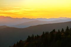 Sunset Color Take 2 (esywlkr) Tags: sky sunser mountains brp blueridgeparkway northcarolina nature warrenreed explore