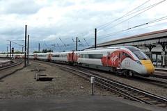 800101 (mike_j's photos) Tags: york railway station class800 800101 iep azuma virgin trains