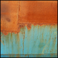 maritime (foto.phrend) Tags: decay derelict rusty wales square fujifilm abstract turquoise rust