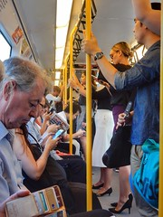 Rush our (sander_sloots) Tags: perth transperth train rush our people mensen crouded trein aseries