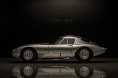 1963 JAGUAR E-type Low Drag Coupe (aJ Leong) Tags: 1963 jaguar etype low drag coupe 118 cult model classic racing car