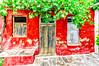 Lefkes, Paros (Kevin R Thornton) Tags: d90 nikon travel facade mediterranean greece architecture red lefkes paros egeo gr