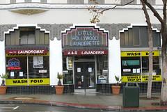 Little Hollywood Launderette, Market Street, San Francisco (Dave Glass, Photographer) Tags: littlehollywoodlaunderette laundromat uppermarket laundry pradogroup artdeco sanfrancisco orbitroom uptowncleaners neilsethlevine 1906marketstreet 94102 hayesvalley lowerhaight gentrifiction