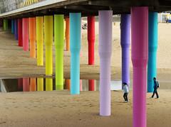 Colors of Scheveningen (Shahrazad26) Tags: scheveningen depier colors couleurs colours kleuren farben strand beach plage playa denhaag sgravenhage thehague lahaye nederland holland thenetherlands paysbas zuidholland