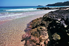 Kauai (daniel_thatcher) Tags: film ektar k1000 35mm hawaii filmisnotdead pentax ocean secretbeach kodak kodakektar ektar100