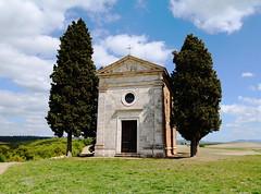 Cappella della Madonna di Vitaleta (LaDani74) Tags: church hill valdorcia tuscany italy countryside sanquiricodorcia siena cappelladellamadonnadivitaleta landscape old building nature naturescape spring