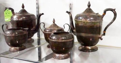 International Sterling Tea Set ($1,092.00)