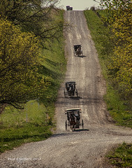 Suday Go To Meeeting Ride! (jackalope22) Tags: amish mnnonites buggies hill vanishing point