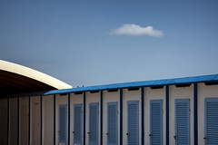 Little cloud (Irene TP) Tags: cloud nuvola cesenatico italia italy adriatico nikon d7100 minimal blue