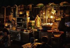 Hong Kong Food stalls (jsvamm) Tags: ifttt 500px people island hong kong pots soho food stalls