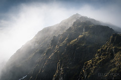 Snowdon Summit (elliot.hook) Tags: snowdon pyg track llanberis bwlch glas mountain path sunrise fog mist cloud landscape uk wales snowdonia