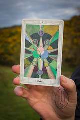 Talking With Thoth (1) (PHH Sykes) Tags: thoth tarot aleister crowley frieda lady harris card deck book