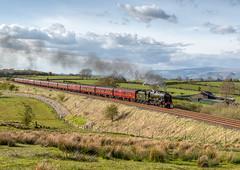 The Cumbrian Mountain Express 22-4-2017 (KS Railway Gallery) Tags: railway cumbrian mountain express uk steam stockber