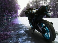 IMG_20170328_200022 (rolling2wheels) Tags: fazer153cc fazernfi fazermodified modified modification cosmeticmods performancemods motorcycle 2wheels motorcyclemods stickerbomb asthetic bigb