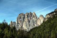 HDR Landscape #2 (Strocchi) Tags: hdr catinaccio valdifassa landscape neve snow canon 6d 24105mm paesaggio mountain sky cielo montagna alpi alps