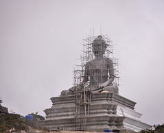 Under construction Buddha image (phuong.sg@gmail.com) Tags: antique art asia asian big buddha buddhism buddhist built cambodia concrete construct construction culture decoration east face faith flag icon image meditate mountain oriental ornate peace pray religion religious sacred scaffold scaffolding sculpture serene spiritual statue temple tourism traditional tranquil travel under wat worship