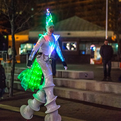 Tall Man-6819 [explore 05-03-17] (misterperturbed) Tags: innerharbor baltimore lightcity baltimorelightcity2017 baltimorelightcity