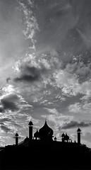 mosque (abtabt) Tags: malaysia sarawak kuching architecture building mosque d7001835g muslin silhouette sky roof masjid muslim islamic islam dome round circle minaret