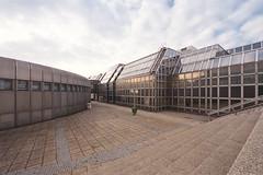uza (flyerkat_L.E.) Tags: universitätszentrum althanstrase vienna film analog kodakultramax400 nikon f80
