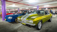 Best of Both Worlds (rilezyyy) Tags: ford capri fordcapri holden commodore holdencommodore v8 car musclecar