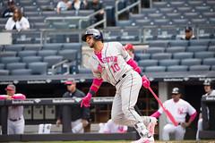 Astros first baseman Yuli Gurriel singles during the second inning. (apardavila) Tags: houstonastros mlb majorleaguebaseball yankeestadium yuligurriel baseball sports