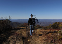 PS Pixel Edit (skye-skye) Tags: outside photoshop edit ps mountains view scenery scenic boy youth teen teenager college blueridge blueridgemountains blue trees pixel pixelated