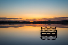 Salines de Torrevieja (Vano'verberghe Photographies) Tags: torrevieja spain españa espagne salinas salines sunset couchédesoleil blue orange bleu yellow jaune banc colour couleur nikon sigma