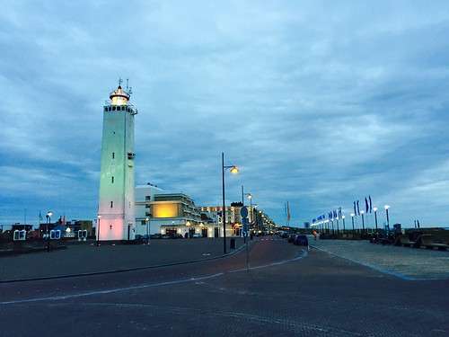 Colourful Noordwijk boulevard (Netherlands 2017)