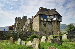 Stokesay Castle, Shropshire (Baz Richardson (now away until 27 May)) Tags: shropshire stokesaycastle fortifiedmanorhouses 13thcenturybuildings medievalarchitecture castles