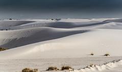 dunes de gypse dans les White Sands (alouest225) Tags: usa etatsunis unitedstates landscape paysage desert newmexico sand d750 nikon gypse whitesandsnationalmonument nm whitesands nikon28300 alouest225 thelandofenchantment usa2016 dune fourcorners