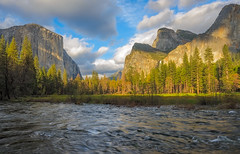 Raging Water (Waldemar*) Tags: usa california mariposacounty yosemite nationalpark mercedriver valley elcapitan water nature landscape outdoor mountains