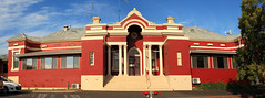 Grenfell Hospital Panorama (Darren Schiller) Tags: grenfell hospital architecture building community facade goldrush history heritage health medical newsouthwales old panorama rural smalltown vintage